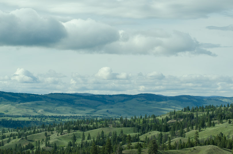 view over the okanogan