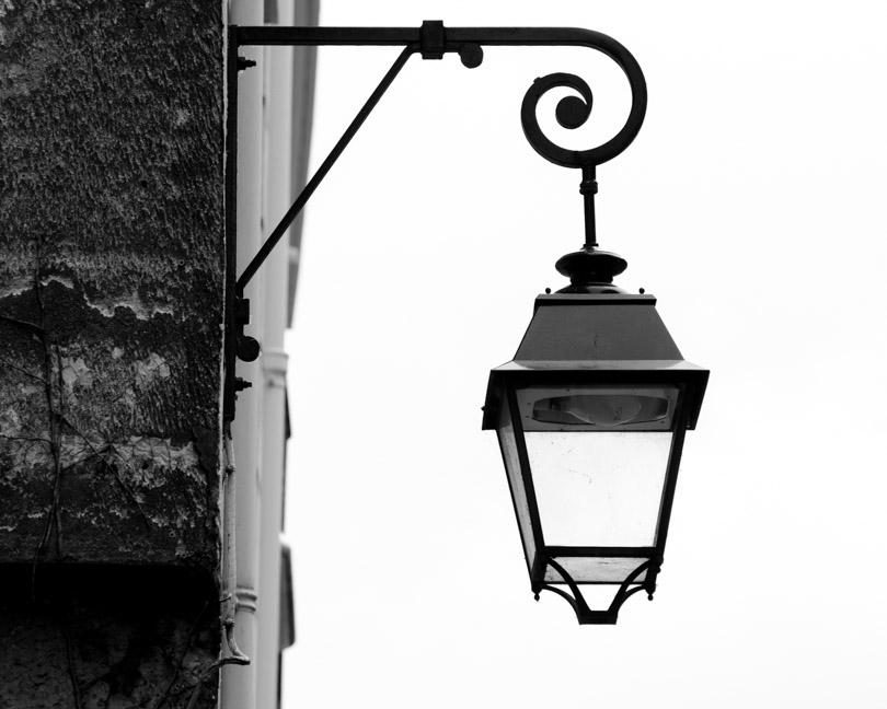 vintage lantern paris france
