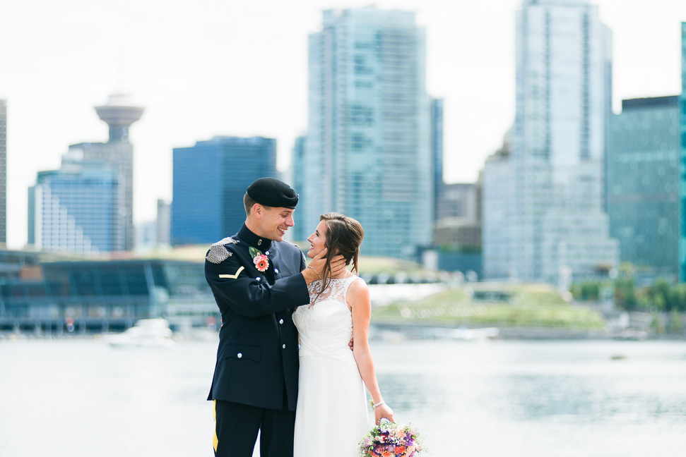 Vancouver-military-wedding-couple