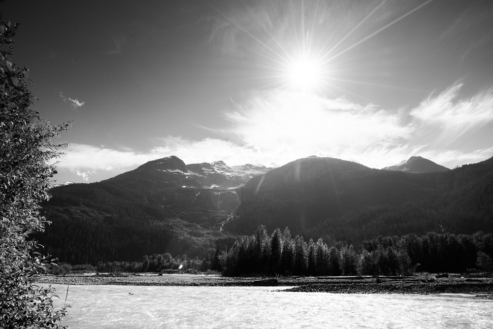 black-white-squamish-mountains