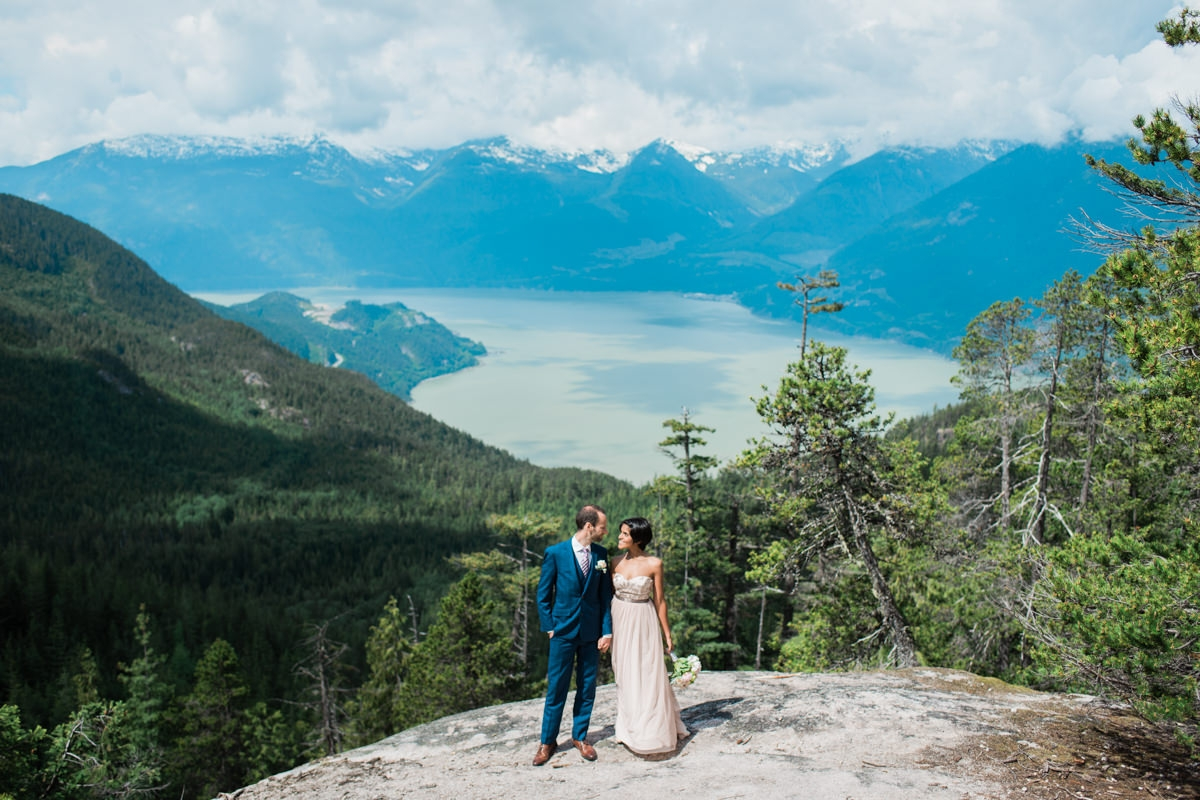 Sea to Sky gondola elopement