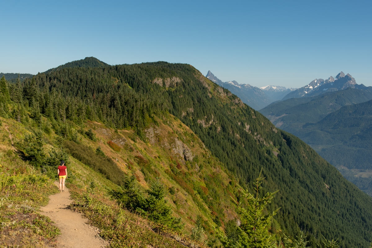 Elk Mountain hike in chilliwack BC