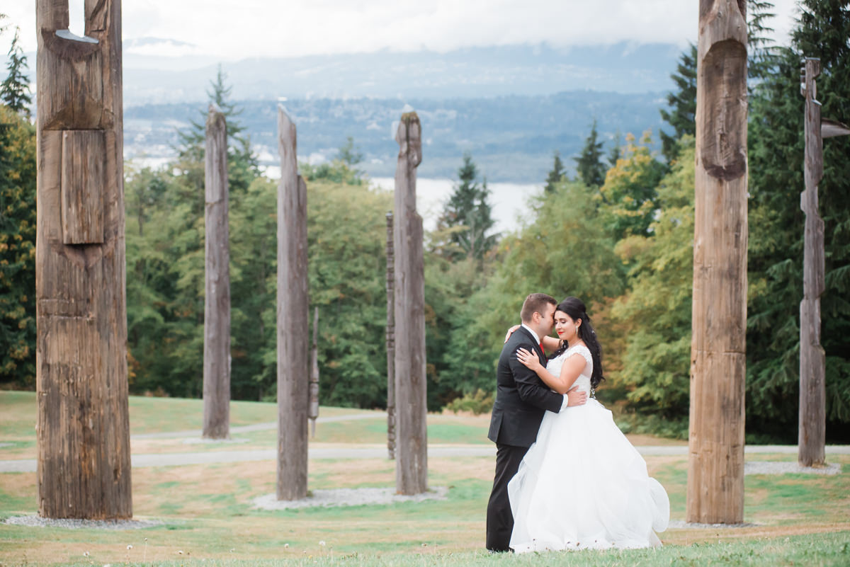 Coquitlam wedding couple portraits