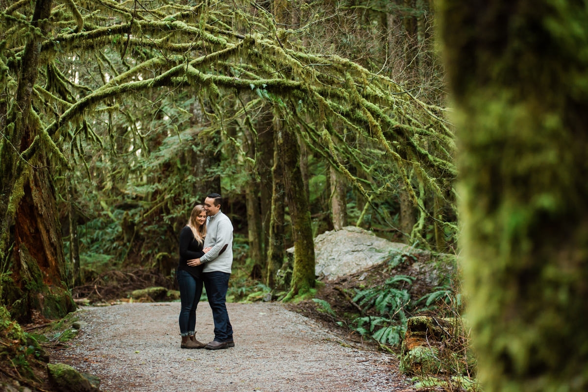 Golden Ears Park engagement photography