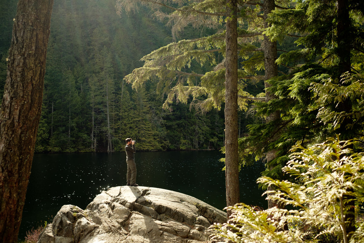 Brohm Lake hike in Squamish BC