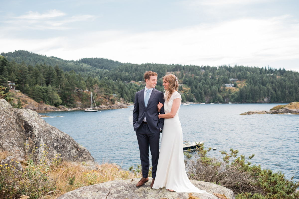 Bowen Island wedding