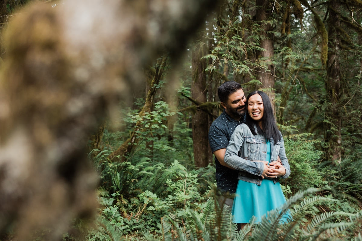 Golden Ears Provincial Park engagement photos