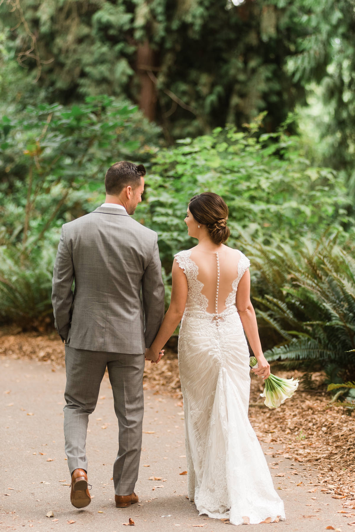 Stanley Park Pavilion wedding couple