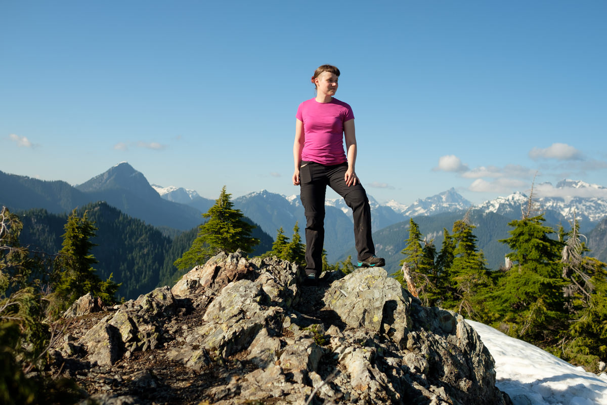 Evans Peak hike in Golden Ears Park