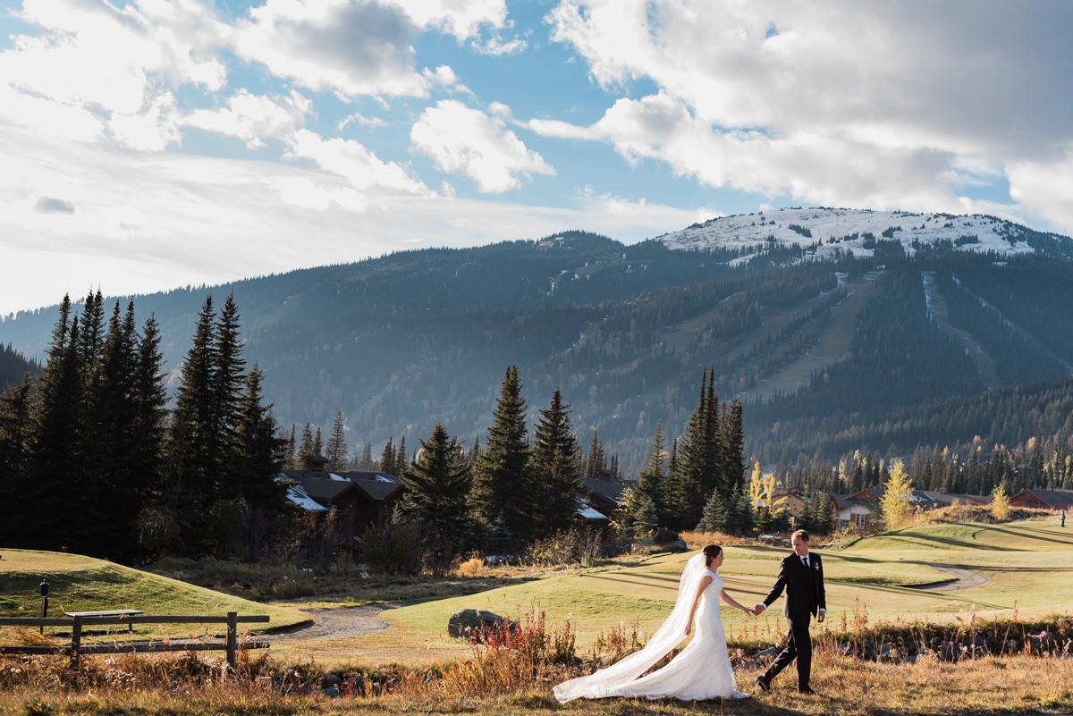 Sun Peaks wedding BC