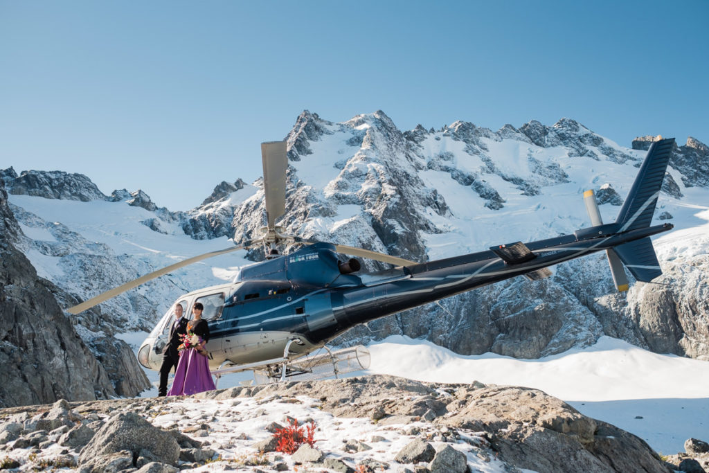Black Tusk helicopter elopement in Squamish