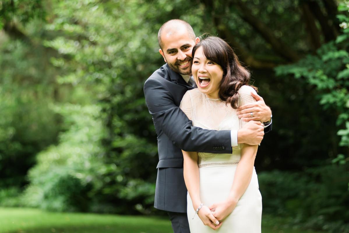 fun wedding photos in Vancouver