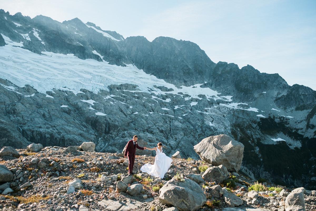 Squamish adventure wedding elopement photos