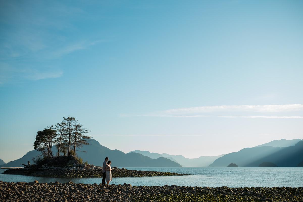 Squamish engagement photo