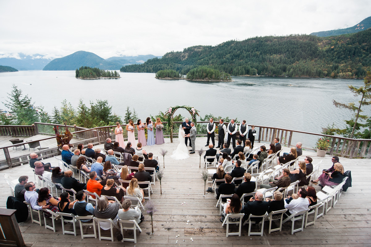 West Coast Wilderness Lodge wedding