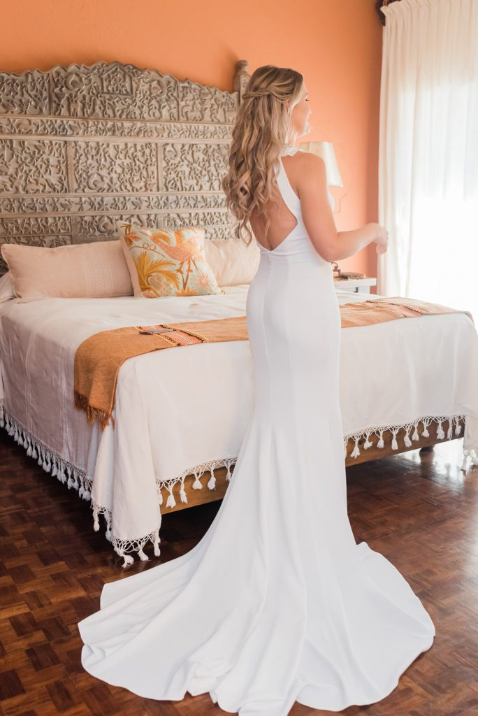 Villa Encanto wedding bridal room