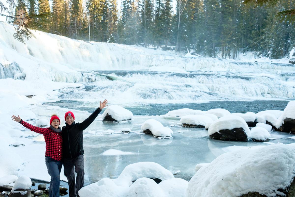 Jelger Tanja Dawson Falls Wells Gray Provincial Park