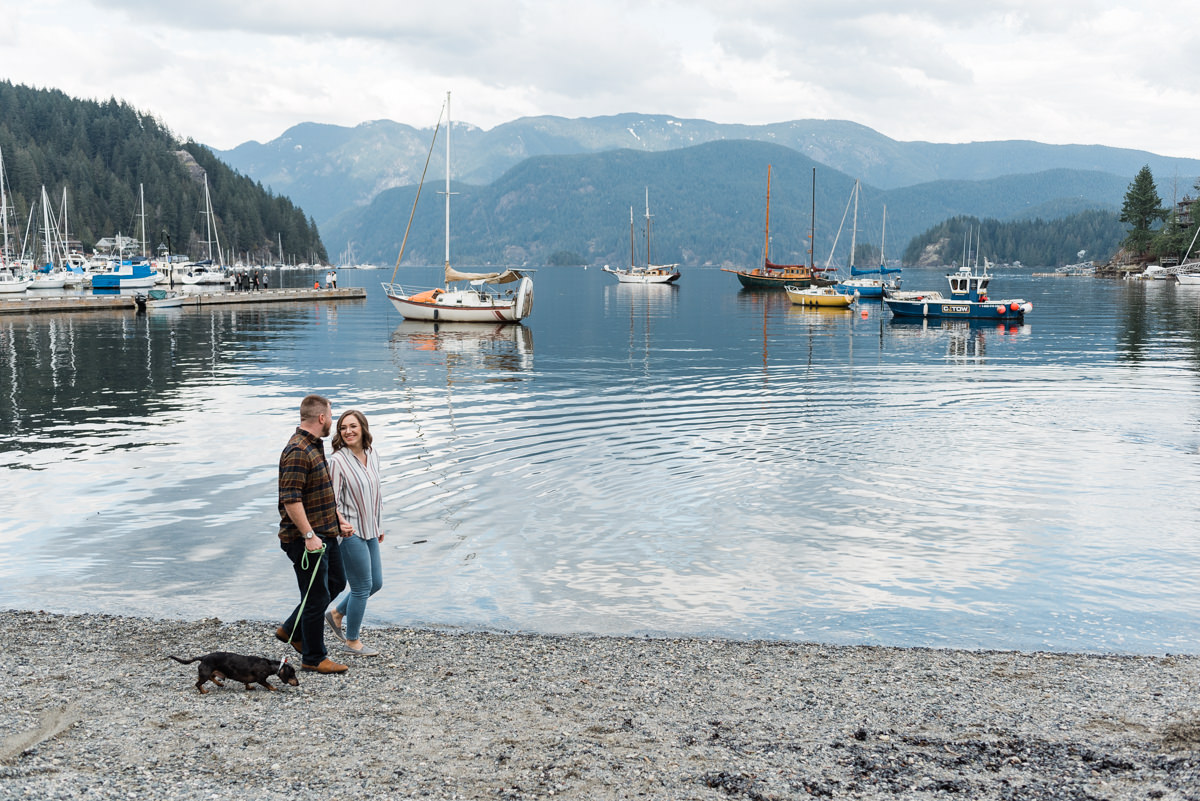 Deep Cove engagement photos