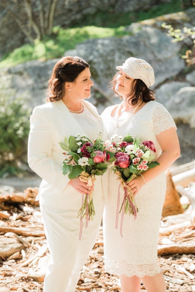 Whytecliff Park elopement wedding