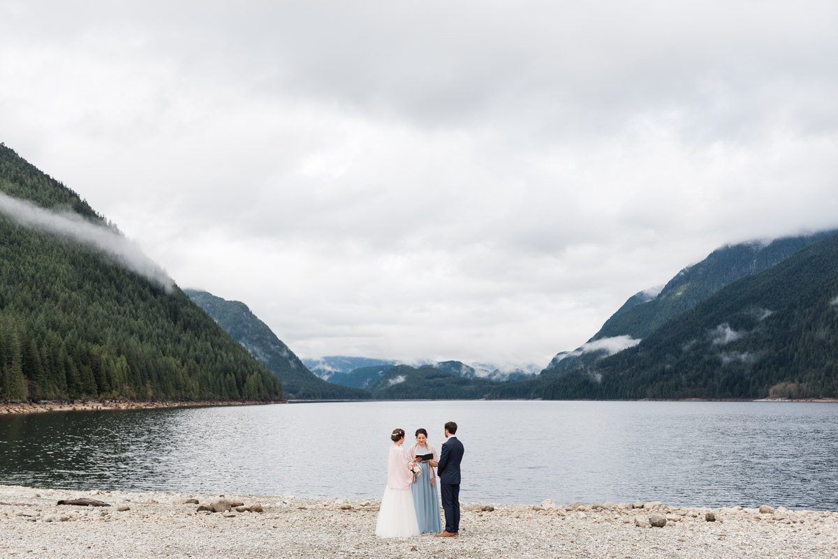Golden Ears Park elopement photography