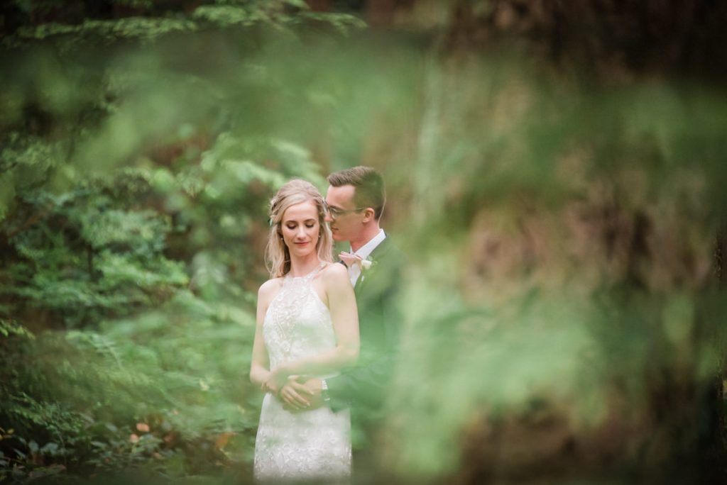 Pacific Spirits Regional Park wedding photos
