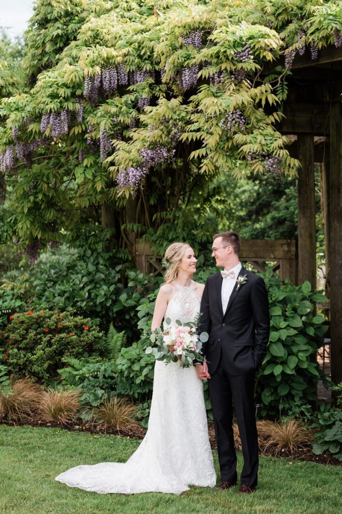 UBC Botanical Gardens wedding photography
