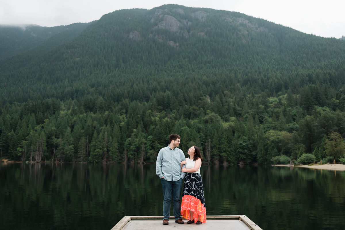 Buntzen Lake engagement photography