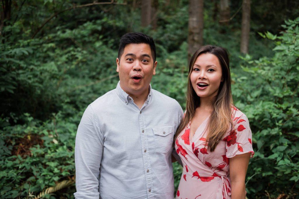 UBC engagement photography