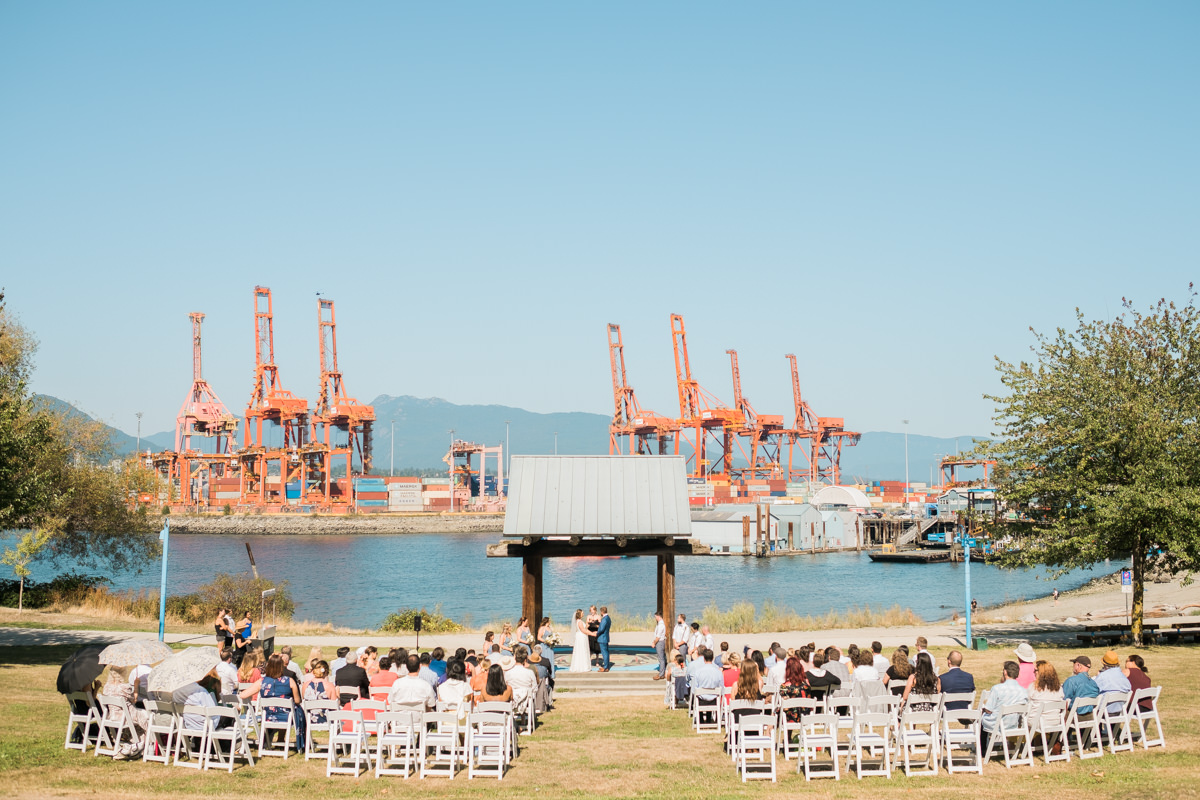 CRAB park wedding vancouver