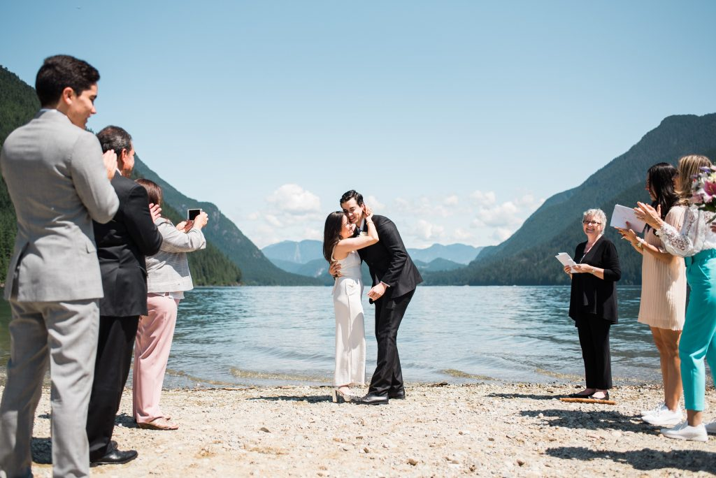 Maple Ridge elopement ceremony