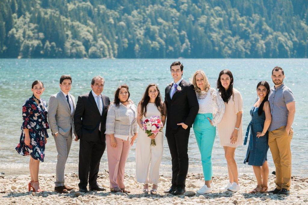 Maple Ridge wedding family photo