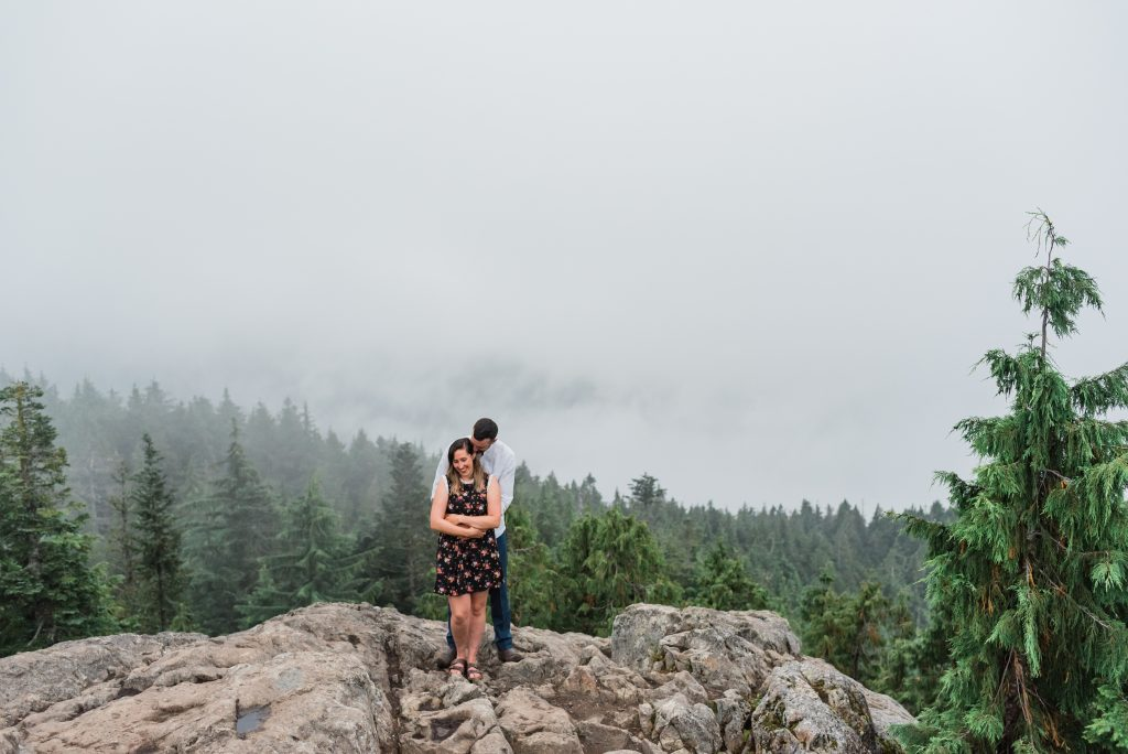 Mt. Seymour couple photos