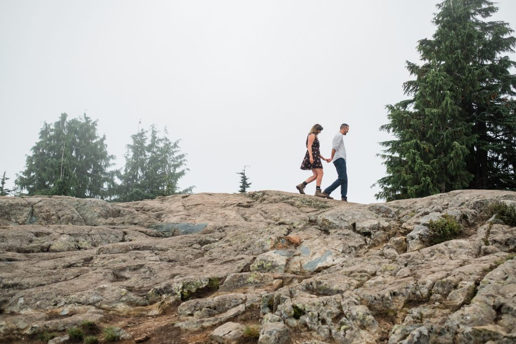 Mt. Seymour couple photography