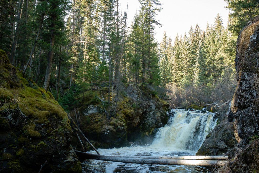 Horsefly BC Moffat Lower Falls