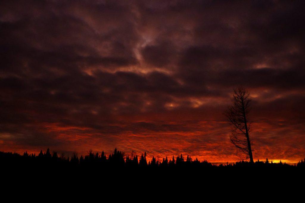 Horsefly BC epic sunset