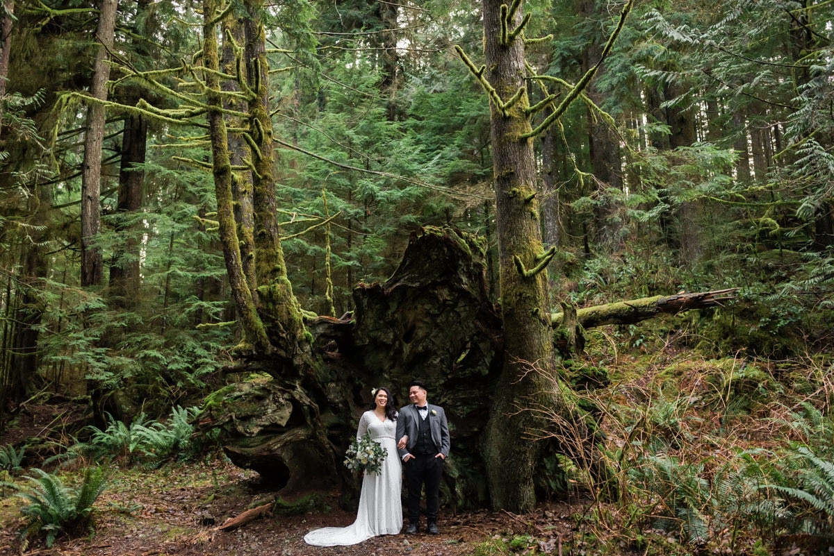 Buntzen Lake elopement photography