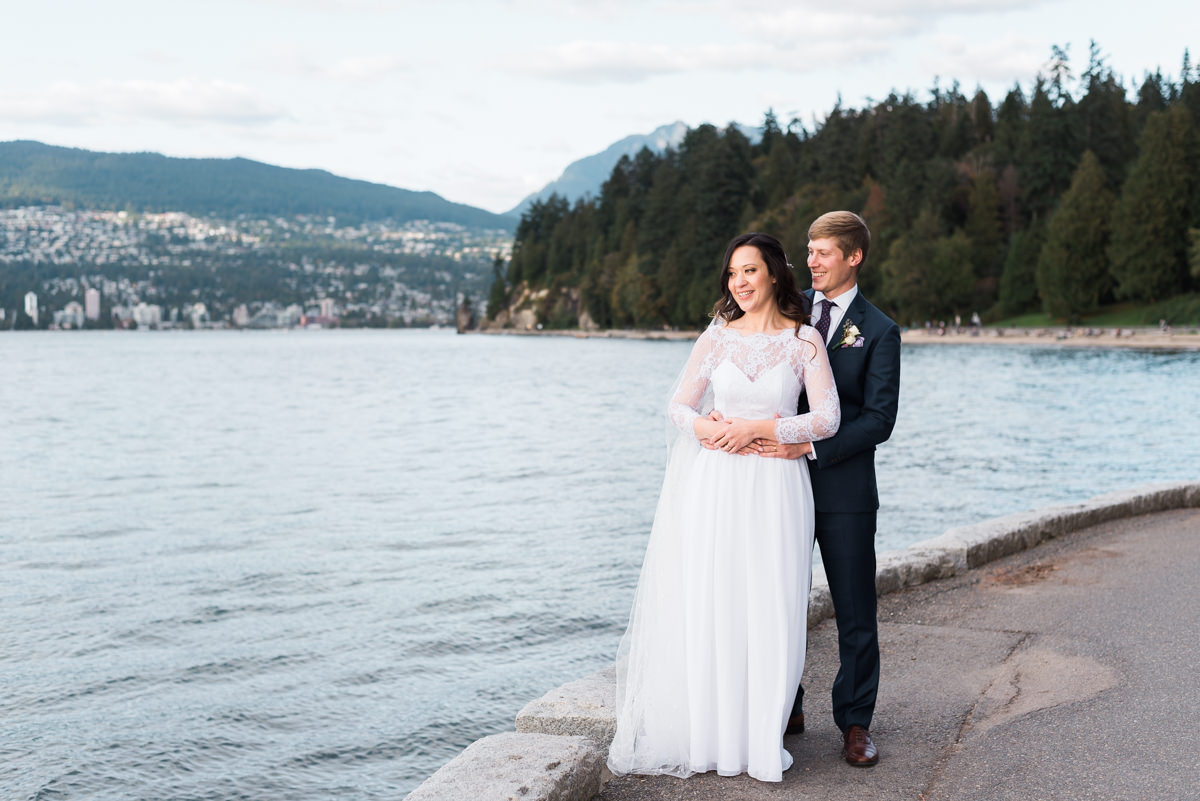 Stanley Park Teahouse wedding