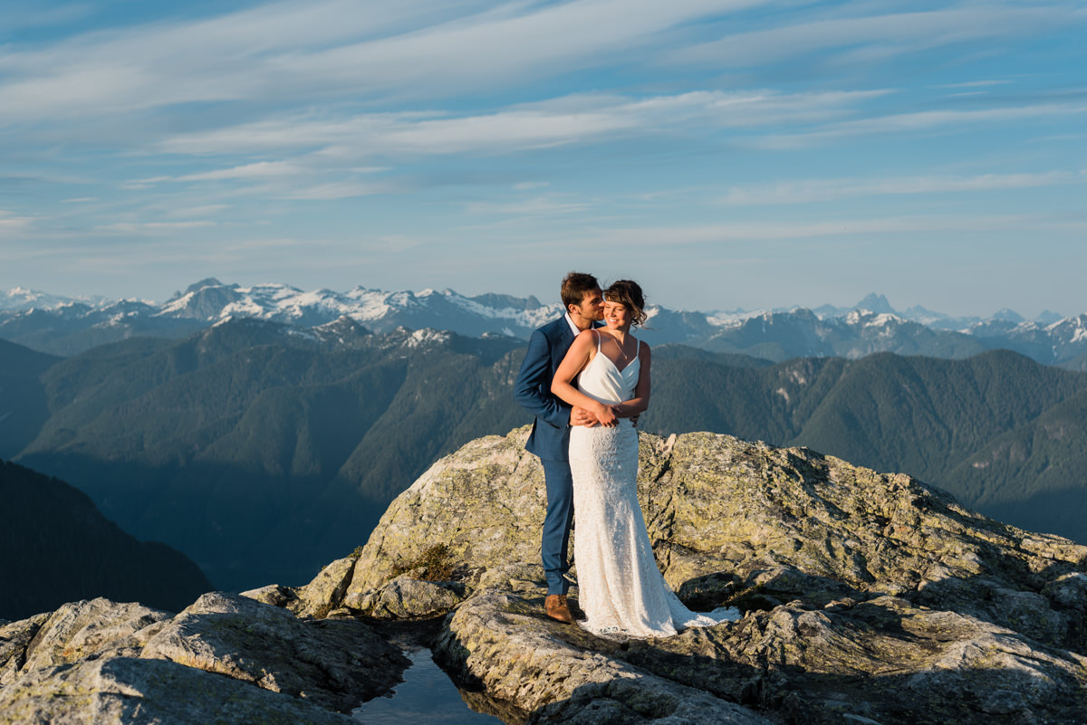 Vancouver mountain wedding photography