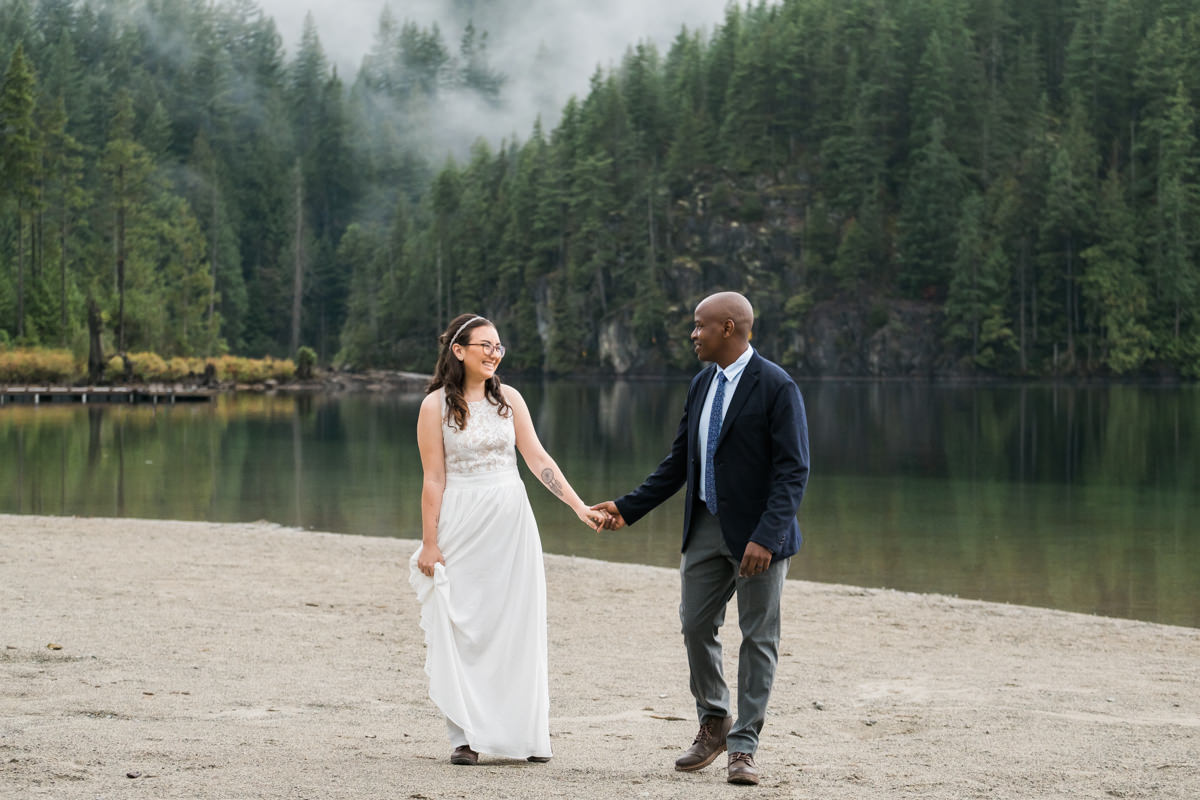 Wedding photography Buntzen Lake