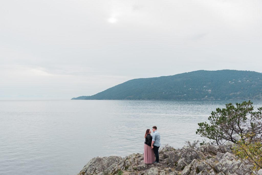 Whytecliff Park engagement photographers