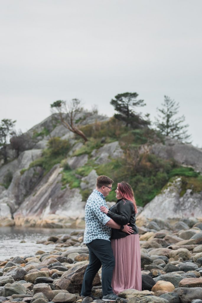 Whytecliff Park engagement photography