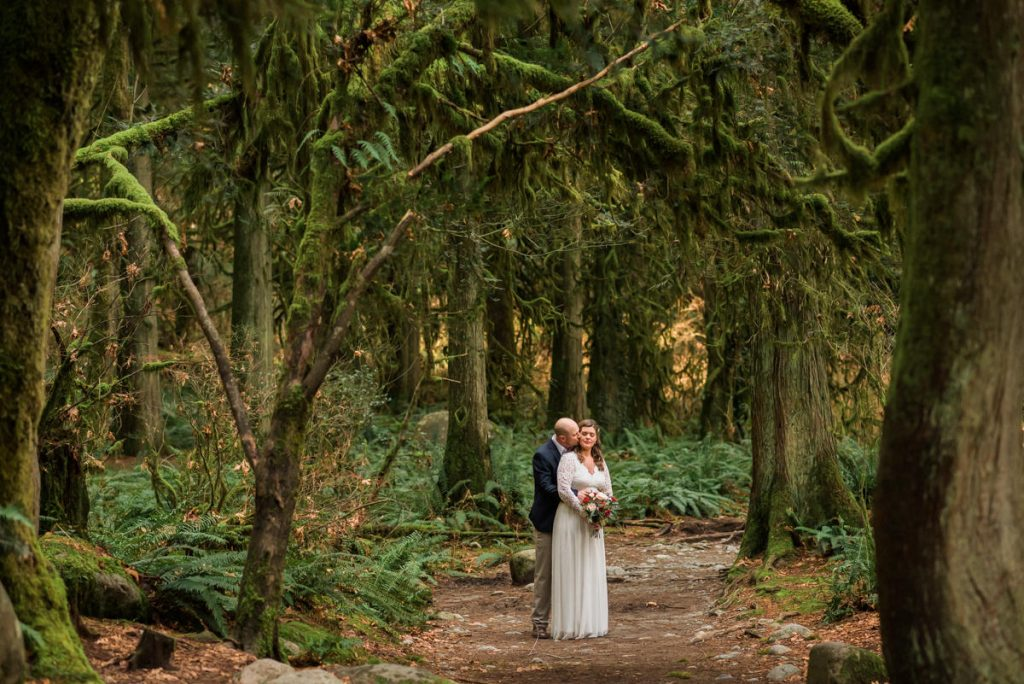 forest elopement in vancouver