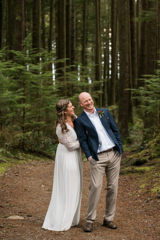 fun wedding portraits in vancouver