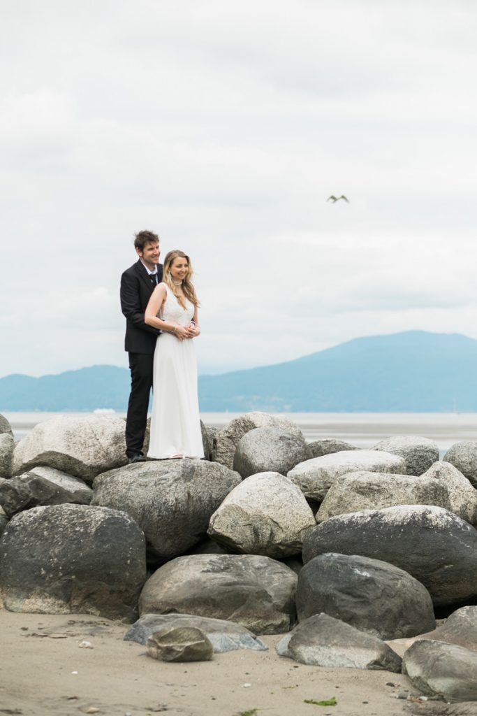 Spanish Banks elopement photographer
