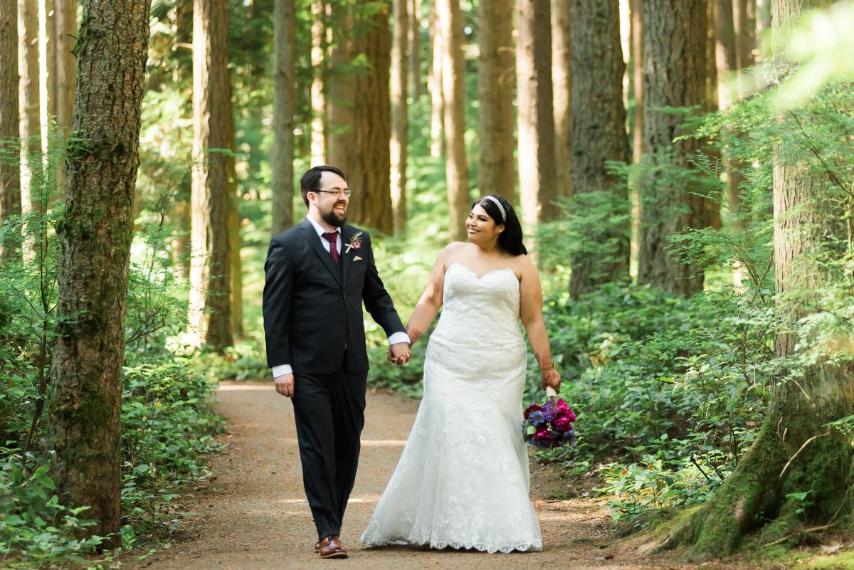 unique vancouver elopement