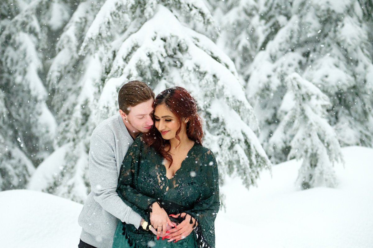 winter elopement tips for Vancouver