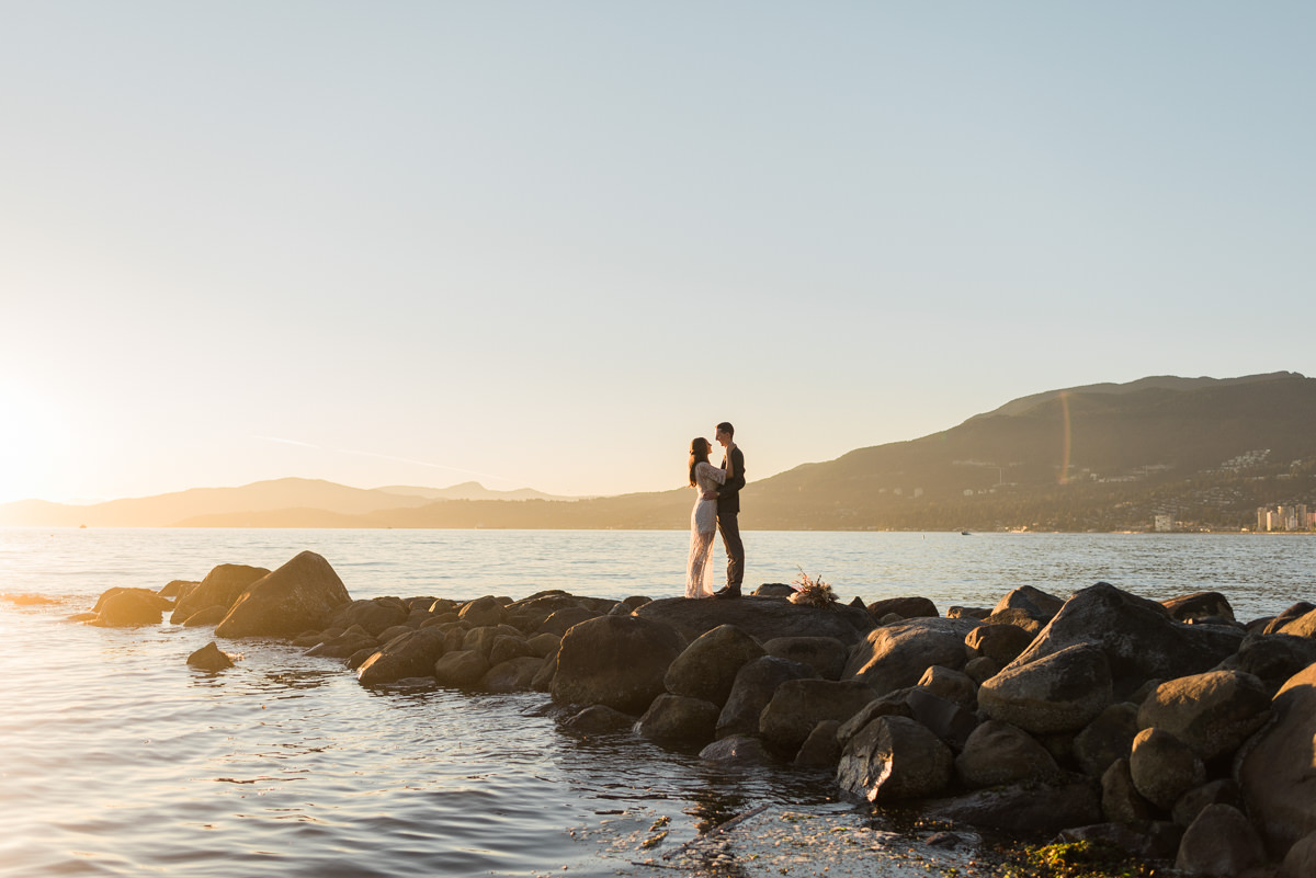 Third Beach elopement