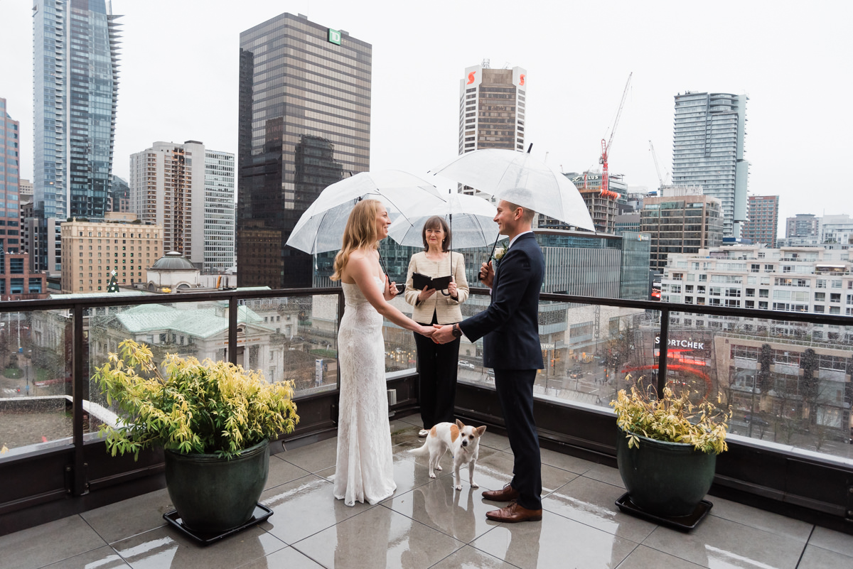 New Year's elopement in Vancouver