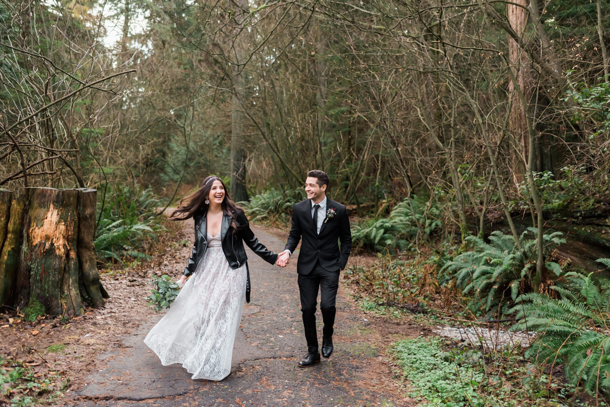 Lost Lagoon elopement